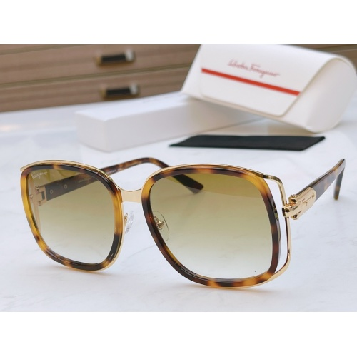 Ferragamo Salvatore FS AAA Quality Sunglasses #867944 $64.00 USD, Wholesale Replica Ferragamo AAA Quality Sunglasses