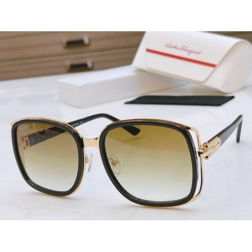 Ferragamo Salvatore FS AAA Quality Sunglasses #867945 $64.00 USD, Wholesale Replica Ferragamo AAA Quality Sunglasses