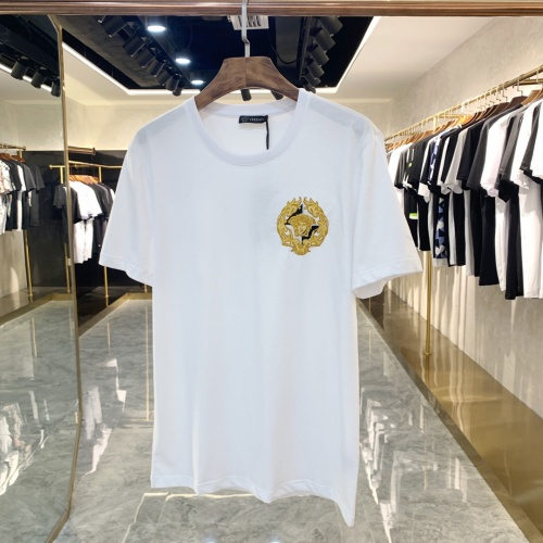 Versace T-Shirts Short Sleeved For Men #867973 $41.00 USD, Wholesale Replica Versace T-Shirts