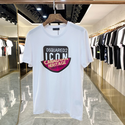 Dsquared T-Shirts Short Sleeved For Men #867978 $41.00 USD, Wholesale Replica Dsquared T-Shirts