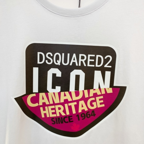 Replica Dsquared T-Shirts Short Sleeved For Men #867978 $41.00 USD for Wholesale
