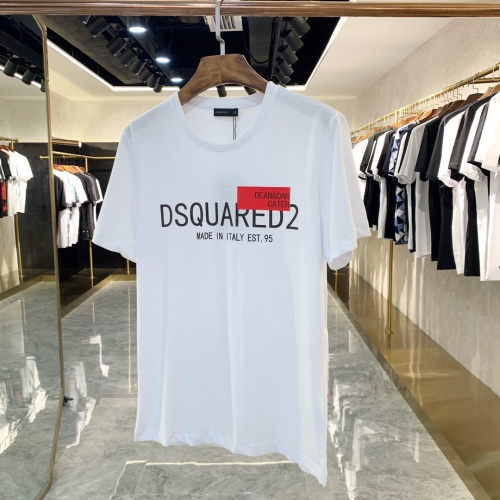 Dsquared T-Shirts Short Sleeved For Men #867980 $41.00 USD, Wholesale Replica Dsquared T-Shirts