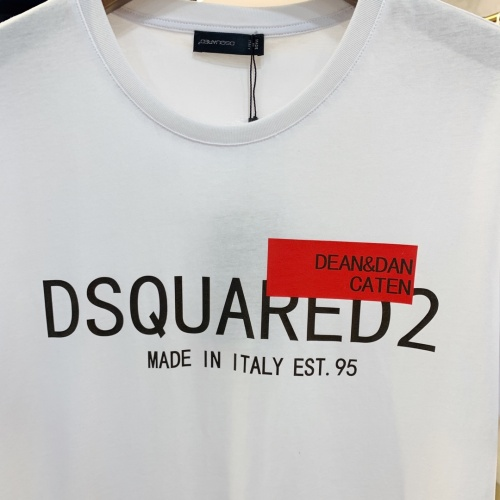 Replica Dsquared T-Shirts Short Sleeved For Men #867980 $41.00 USD for Wholesale