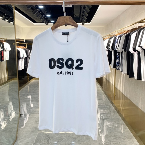 Dsquared T-Shirts Short Sleeved For Men #867982 $41.00 USD, Wholesale Replica Dsquared T-Shirts