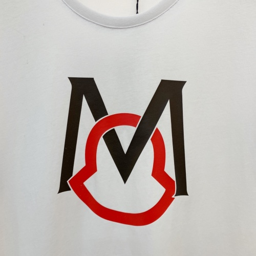 Replica Moncler T-Shirts Short Sleeved For Men #867987 $41.00 USD for Wholesale