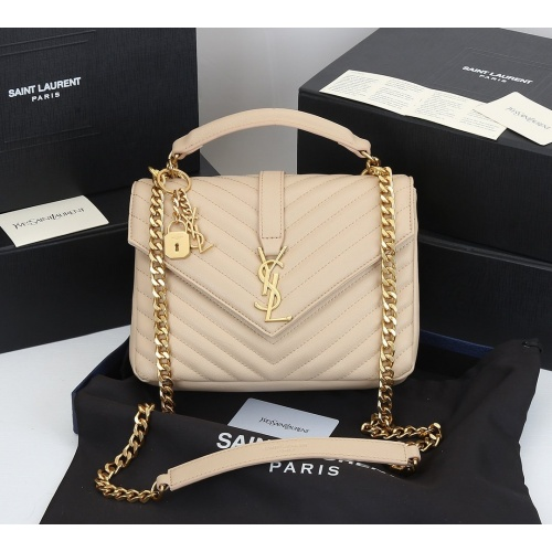 Yves Saint Laurent YSL AAA Quality Messenger Bags For Women #868002 $99.00 USD, Wholesale Replica Yves Saint Laurent YSL AAA Messenger Bags