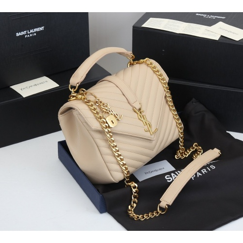 Replica Yves Saint Laurent YSL AAA Quality Messenger Bags For Women #868002 $99.00 USD for Wholesale