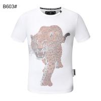 $28.00 USD Philipp Plein PP T-Shirts Short Sleeved For Men #860930