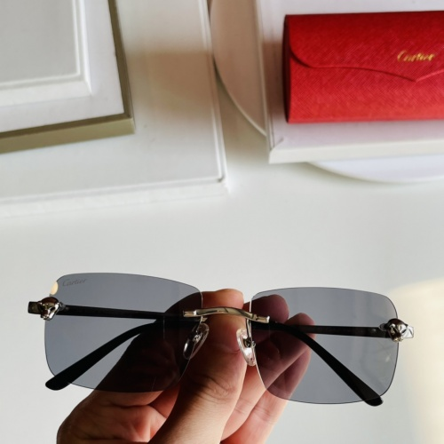 Cartier AAA Quality Sunglasses #868070