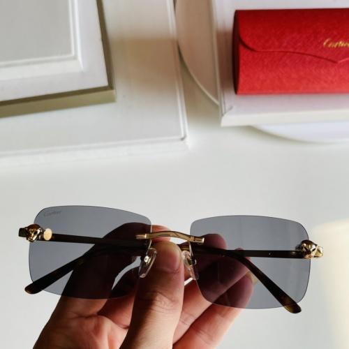 Cartier AAA Quality Sunglasses #868071