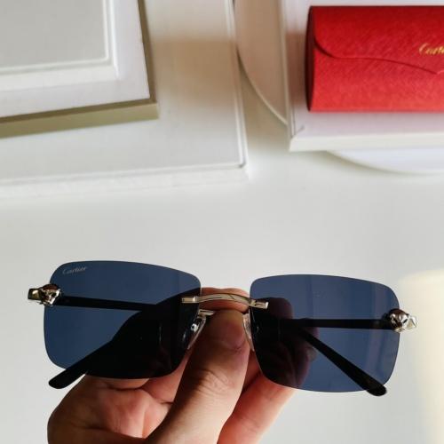 Cartier AAA Quality Sunglasses #868072
