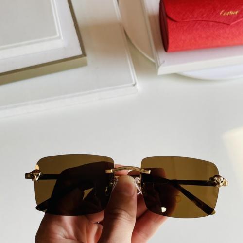 Cartier AAA Quality Sunglasses #868074