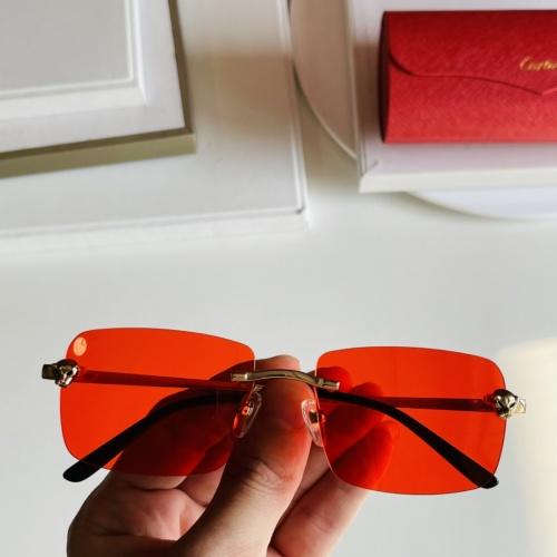 Cartier AAA Quality Sunglasses #868075