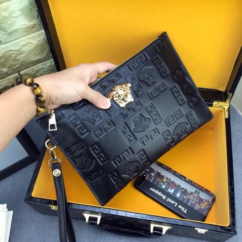 Versace AAA Man Wallets #868114