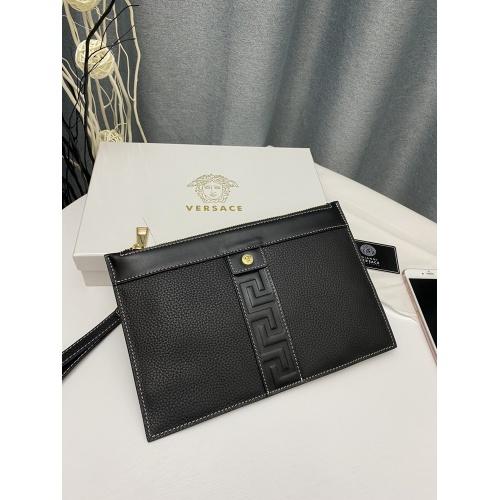 Versace AAA Man Wallets #868115