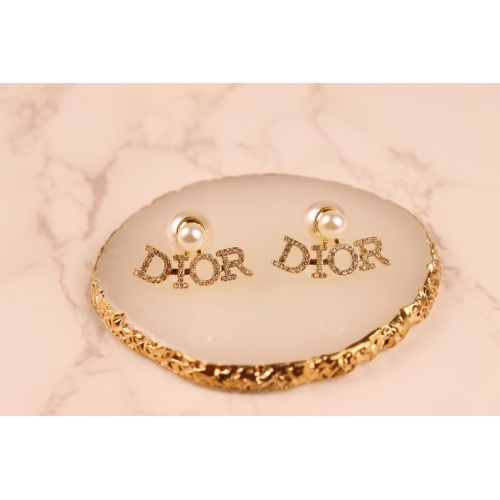 Christian Dior Earrings #868170 $32.00 USD, Wholesale Replica Christian Dior Earrings