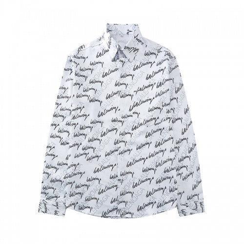 Balenciaga Shirts Long Sleeved For Men #868180