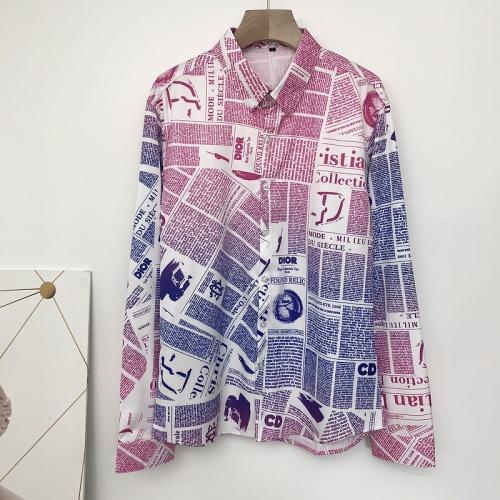 Christian Dior Shirts Long Sleeved For Men #868207