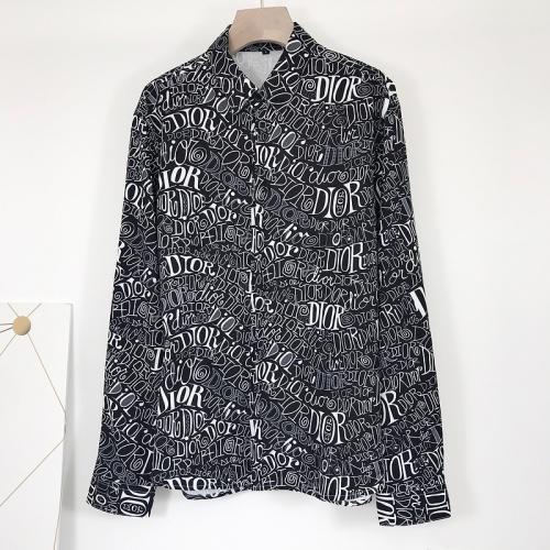 Christian Dior Shirts Long Sleeved For Men #868212