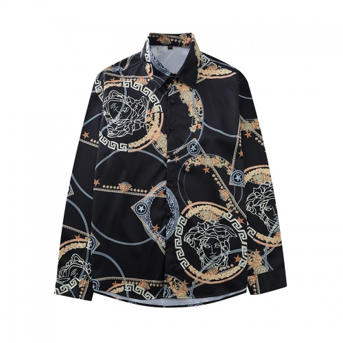 Versace Shirts Long Sleeved For Men #868217