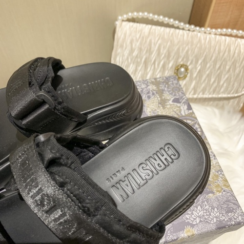 Replica Christian Dior Slippers For Women #868385 $64.00 USD for Wholesale