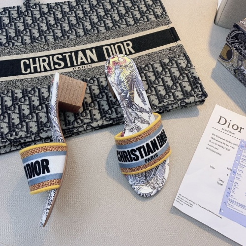 Christian Dior Slippers For Women #868396 $56.00 USD, Wholesale Replica Christian Dior Slippers