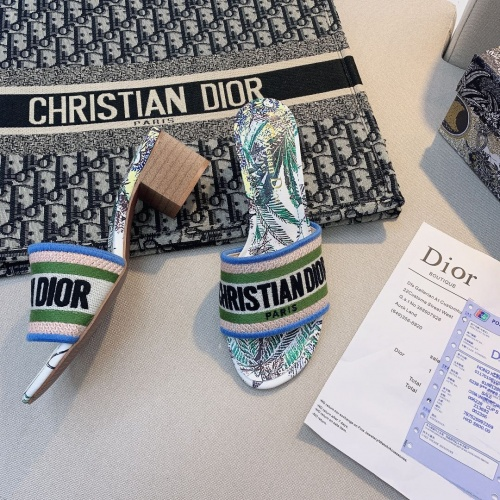 Christian Dior Slippers For Women #868399 $56.00 USD, Wholesale Replica Christian Dior Slippers