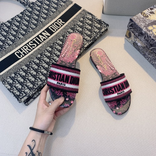 Christian Dior Slippers For Women #868414 $48.00 USD, Wholesale Replica Christian Dior Slippers