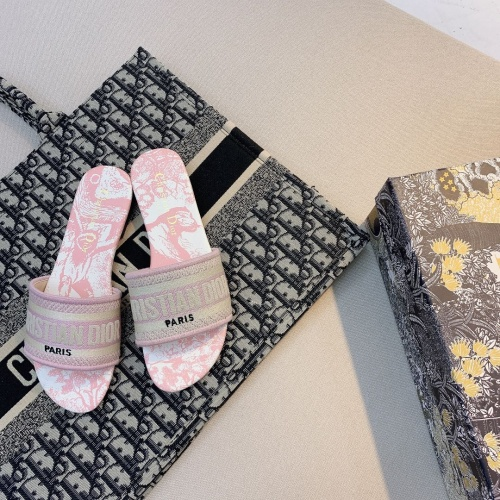 Christian Dior Slippers For Women #868420 $48.00 USD, Wholesale Replica Christian Dior Slippers