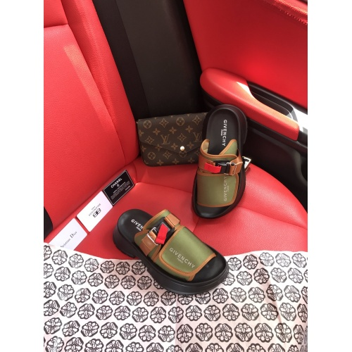 Replica Givenchy Slippers For Women #868452 $64.00 USD for Wholesale