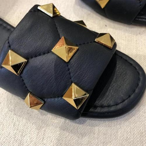 Replica Valentino Slippers For Women #868471 $52.00 USD for Wholesale