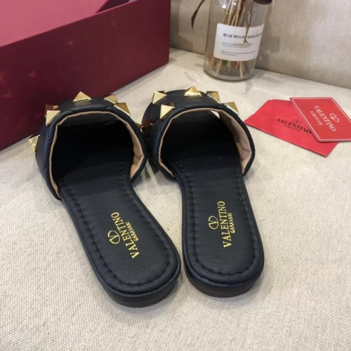 Replica Valentino Slippers For Women #868471 $52.00 USD for Wholesale