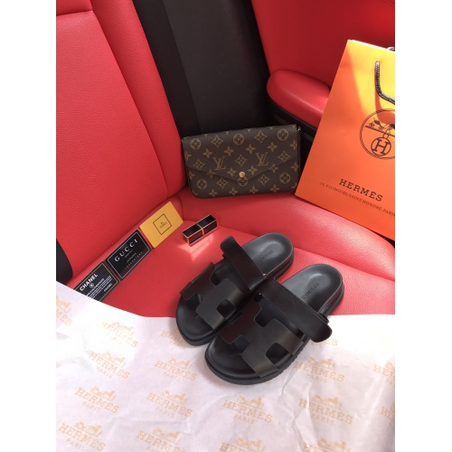 Hermes Slippers For Women #868485 $60.00 USD, Wholesale Replica Hermes Slippers