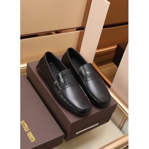 Bottega Veneta BV Leather Shoes For Men #868863