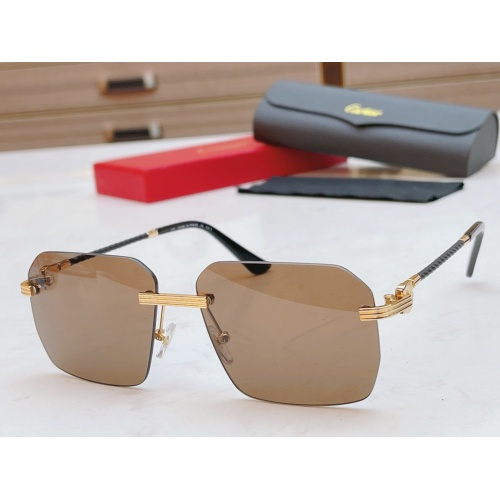 Cartier AAA Quality Sunglasses #868880