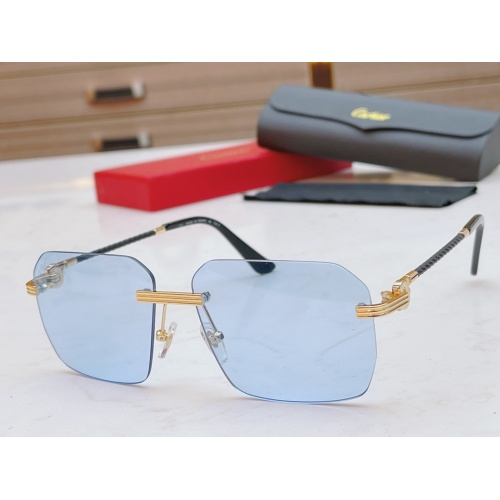Cartier AAA Quality Sunglasses #868881 $48.00 USD, Wholesale Replica Cartier AAA Quality Sunglassess