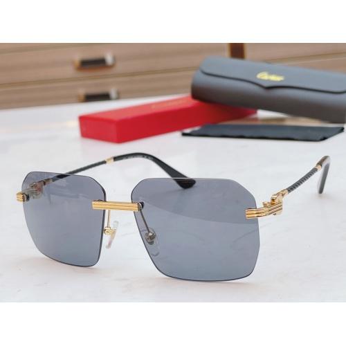 Cartier AAA Quality Sunglasses #868882