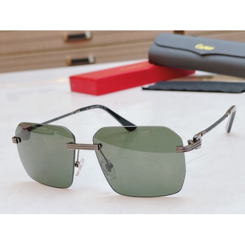 Cartier AAA Quality Sunglasses #868883