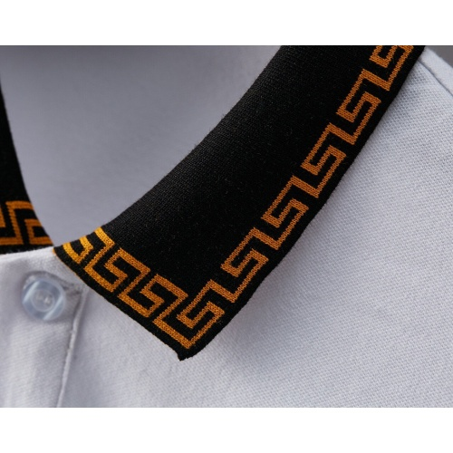 Replica Versace T-Shirts Short Sleeved For Men #869013 $29.00 USD for Wholesale