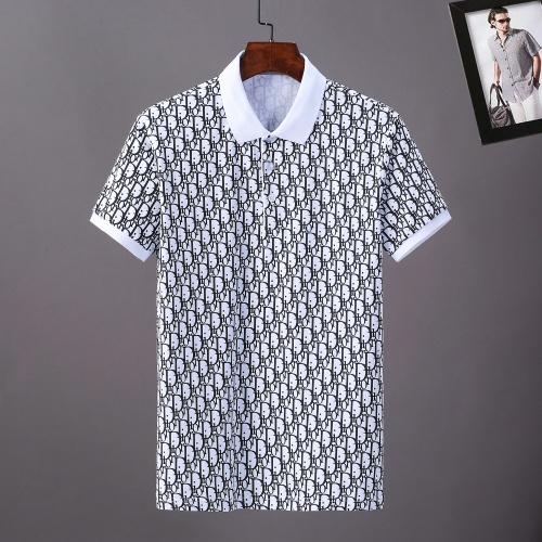 Christian Dior T-Shirts Short Sleeved For Men #869017