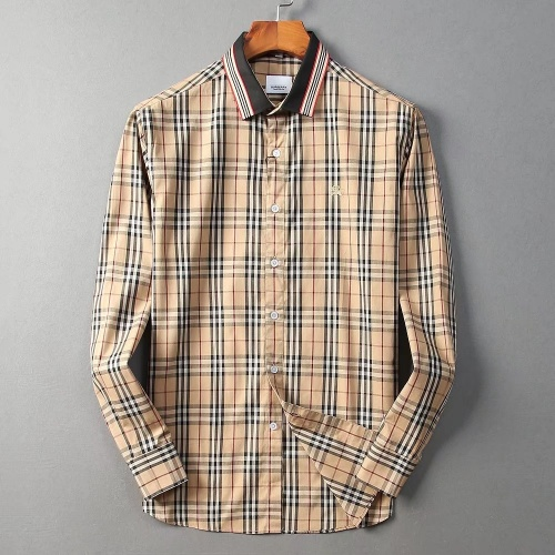 Burberry Shirts Long Sleeved For Men #869079