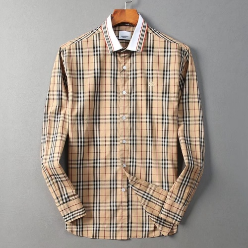 Burberry Shirts Long Sleeved For Men #869080