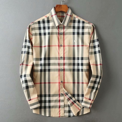 Burberry Shirts Long Sleeved For Men #869104