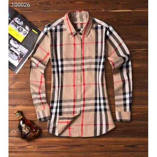 Burberry Shirts Long Sleeved For Women #869108