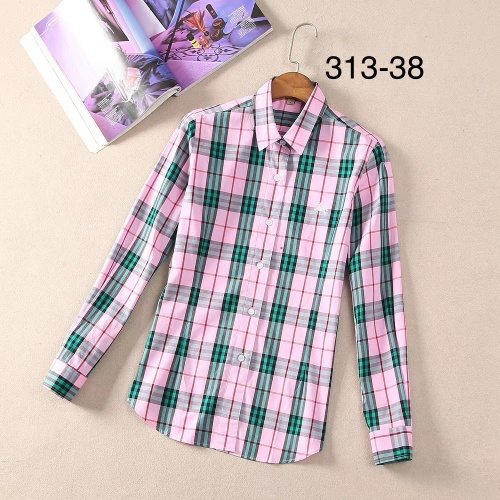 Burberry Shirts Long Sleeved For Women #869111
