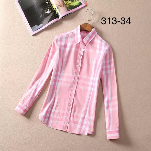 Burberry Shirts Long Sleeved For Women #869129