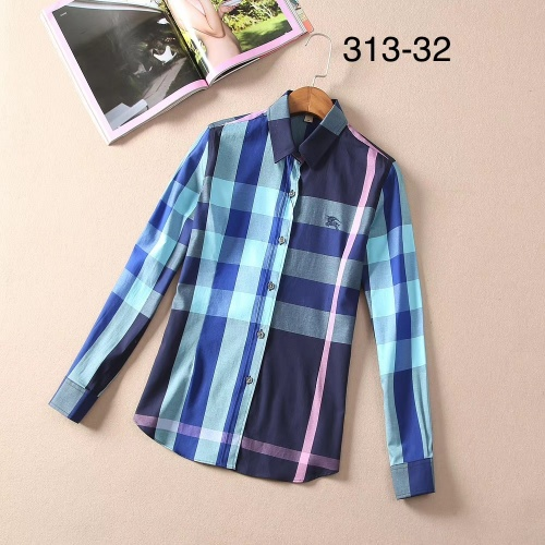 Burberry Shirts Long Sleeved For Women #869131