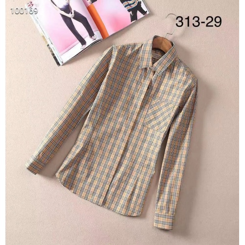 Burberry Shirts Long Sleeved For Women #869132