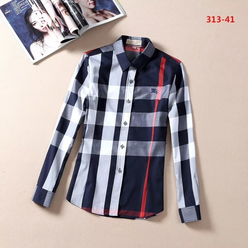 Burberry Shirts Long Sleeved For Women #869145