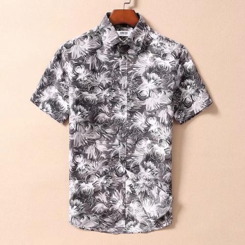 Armani Shirts Short Sleeved For Men #869168